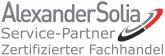 AlexanderSolia zertifizierter Fachhandel