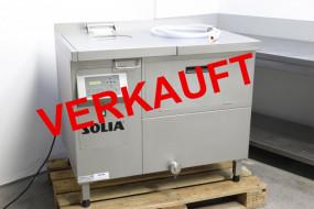 VERKAUFT Solia SWA 75.2 D Salatwaschmaschine, gebraucht