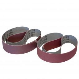 6x Schleifbänder Mix Korn 120 und 150 für DICK SM-100